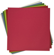 My Colours 210048 Holiday Heavyweight Cardstock Bundle (18 Pack), 30cm by 30cm , Multicolor