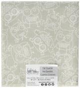 Fabric Editions Palette Precut Die, 46cm by 50cm , Novelty Owls