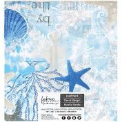 Fabric Palette Precut 46cm x 110cm 1/Pkg-Southport - Blue II