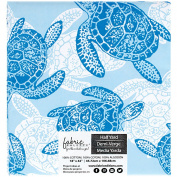 G202799 Fabric Palette Precut 46cm x 110cm 1/Pkg-Southport - Blue III