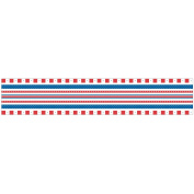 Srm Little Borders Stickers-Red, White, Blue