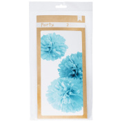 American Crafts DIY Party Wall PomPoms Blue
