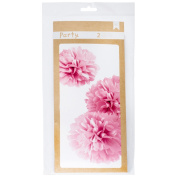 American Crafts DIY Party Wall PomPoms Pink