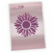 CraftStar Sunflower Stencil - Reuseable Flower Craft Stencil