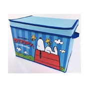 Peanuts Snoopy Container Box w/ Lid Foldable KSB-11