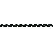 0.6cm CLAM SHELL GIMP TRIM TERESITA, STYLE #02568-002 50 MT BLACK