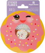 Paper House Productions Kawaii Stickers 3, 3-Pack, Flake