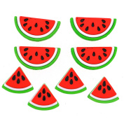 Jesse James Buttons, Dress It Up, WATERMELONS pkg #9383 Craft Sewing Buttons