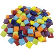 Diamond Tech Crafts MS35316 Mosaic Squares 0.5kg-Multi-Colour