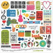 Photo Play Paper Ppbg2861 Band Stickers 30cm x 30cm -Elements