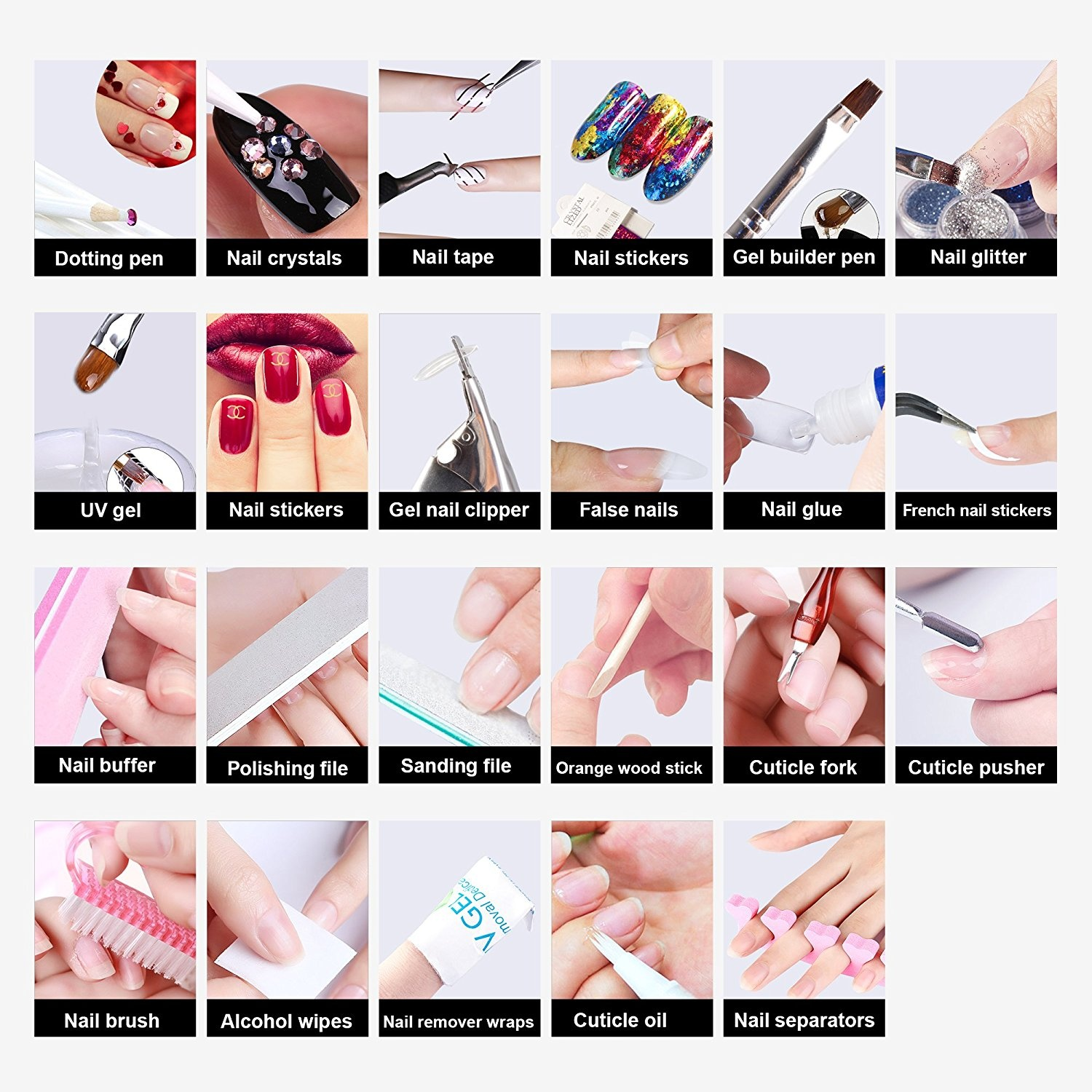 Led Gel Nail Starter Kit Beauty Beauty: Buy Online from Fishpond.co.nz