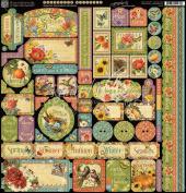 Seasons Cardstock Stickers 30cm x 30cm -