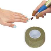 Manicure Finger Protection Tape 2.5 cm x 4.5 m Beige
