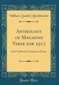 Anthology of Magazine Verse for 1917