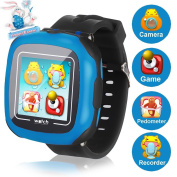 Game Smart Watch for Kids, Symfury Children's Camera 10 Games Digital 3.8cm Touch Pedometer Alarm Clock Activity Pet Music Sports Toys Boys Girls Easter Gift