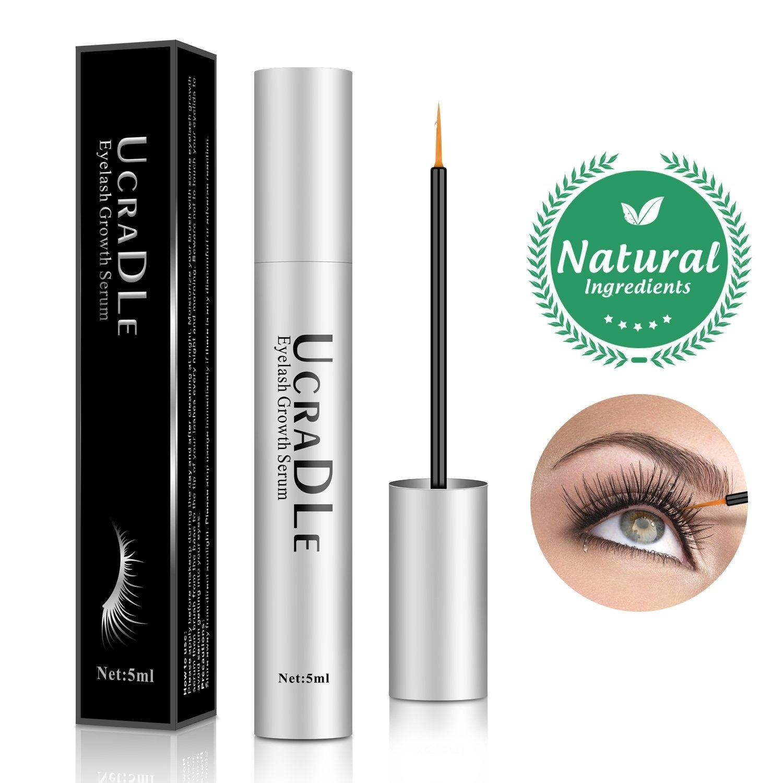 ab7ff519e13 Eyelash Growth Serum - Lash Booster Conditioner for Longer, Stronger Eye  Lashes - Irritation Free Formula Eyebrow Eyelash Enhancer by Ucradle - Shop  Online ...