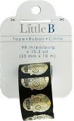 Little B Decorative Foil Tape .250cm X10.3Yds-Sugar Skulls