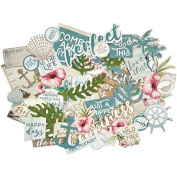 Kaisercraft CT874 Island Escape Collectables Cardstock Die-Cuts -