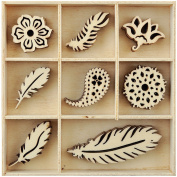 MINI THEME FLOURISHS-FEATHER