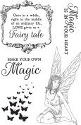 Fairy Garden Clear Stamps 15cm x 10cm -