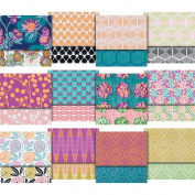 Free Spirit Fabrics CaliMod Joel Dewberry 13cm x 13cm Charm Pack