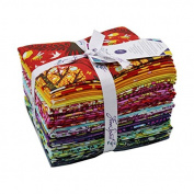 Freespirit Fabrics Fqtpt17 Throwback Tula-Tula Pink 46cm x 50cm Fat Quarters-20pcs