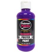 Palmer Washable Poster Paint 240ml Purple