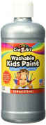 Washable Metallic Poster Paint 470ml Silver