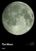 Glow in the Dark Moon Print - 700mm X 500mm
