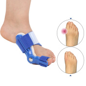Orthotics Big Toe Corrector Hallux Valgus Foot Pain Relief Feet Guard Care Bone Corrective Bunion Night Day Splint Straightener