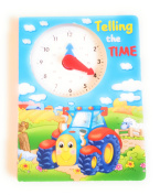 Telling The Time Book - Tom The Tractor