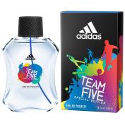 adidas Team Five Eau De Toilette Spray for Men, 100ml [Special Edition]