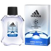 Adidas UEFA Champions League Arena Edition Eau de Toilette Spray for Men, 100ml