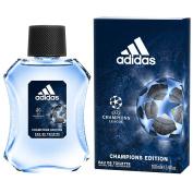 Adidas UEFA Champions League Edition Eau de Toilette Spray for Men, 100ml