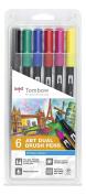 "Tombow ""6 ABT"" Dual Brush Pen - Pastel-P"