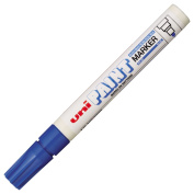Uni-Ball Paint Marker Bullet Tip Medium Point Px20 Line Width 2.2-2.8mm Blue Ref 9001923 [Pack 12]