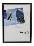 EASA4BKP Easy Loader Frame A4 Certificate / Photo / Poster Frame in Black with Non Glass Front