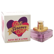 Agatha Ruiz De La Prada Love Forever Love Eau de Toilette for Women, 50ml