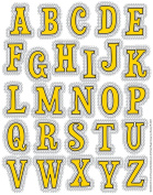 Eureka Peanuts Touch of Class Stickers - Alphabet