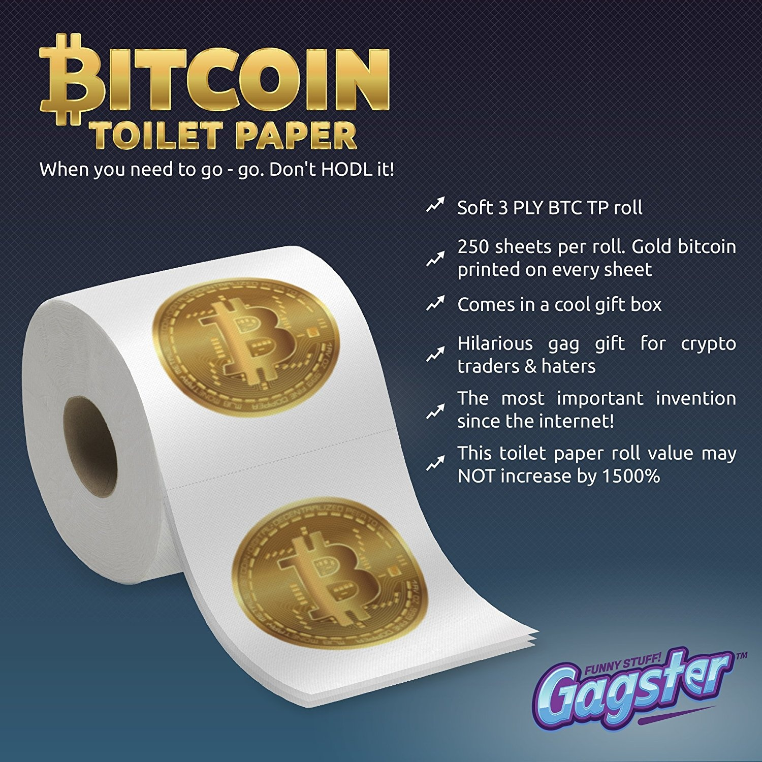 Gold Plated Crypto Coin