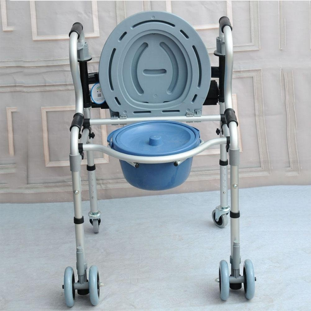 iiinsix Thick aluminium alloy elderly disabled walker with bath ...