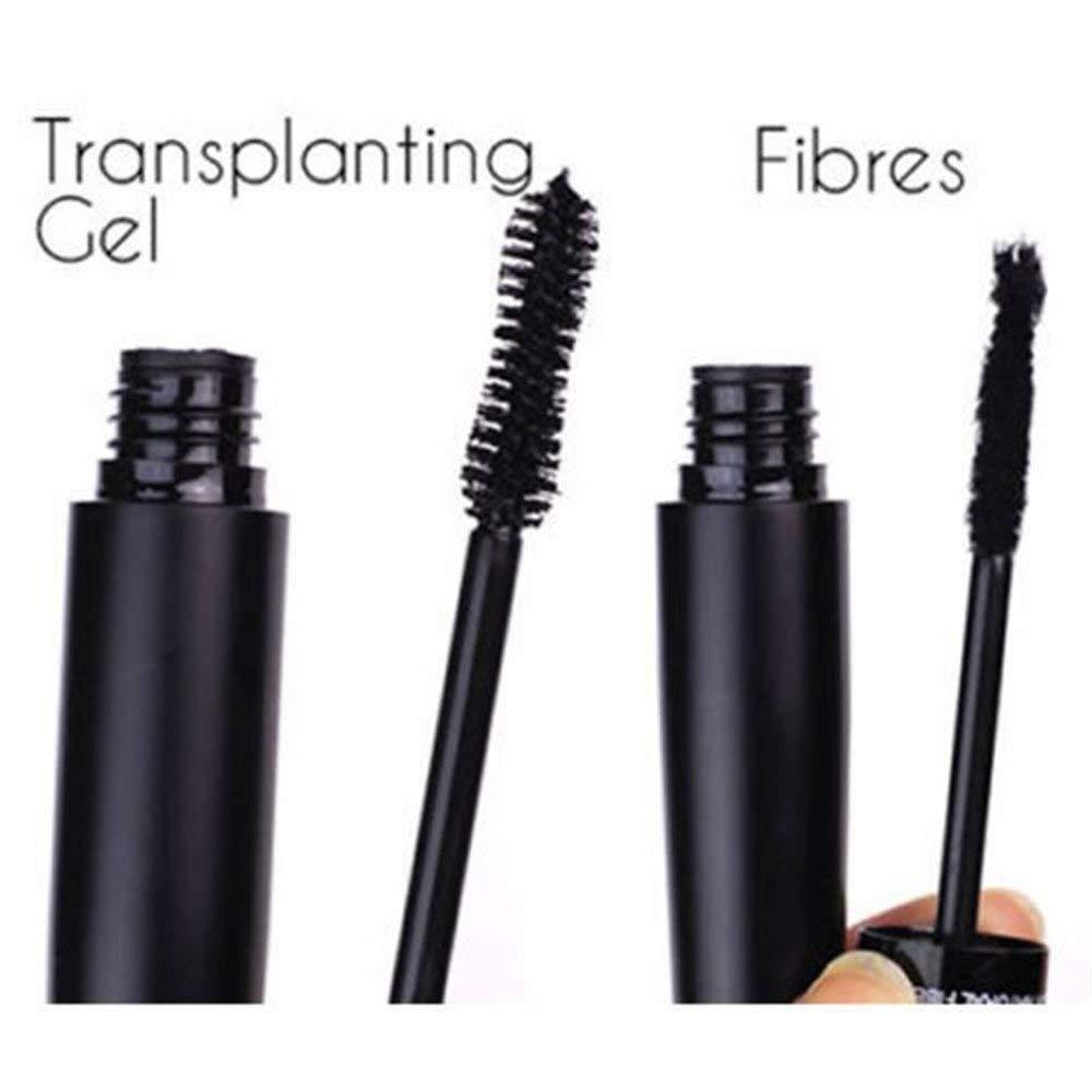 bcf886f24189 3D Fibre Fibre Lashes Mascara Black Sealed ,1 x Transplanting Gel 1 x  Mascara Fibre For The False Lash, A Natural Lengthening Thickening