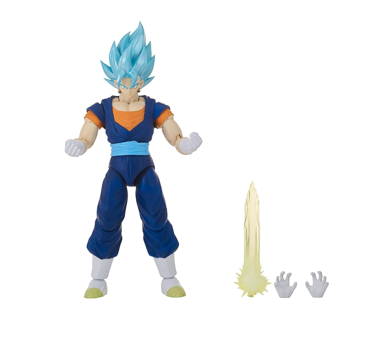 dd9c0d315cd68 Dragon Ball Super Super Saiyan Action Figure, Blue Vegito