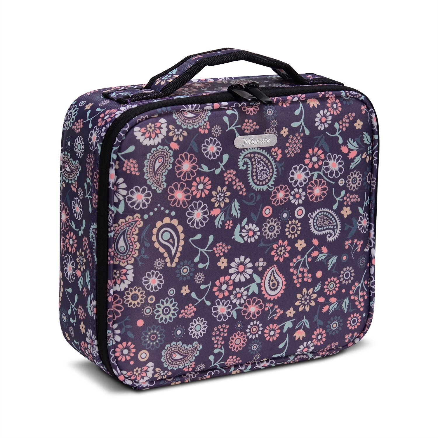 e3b9500aba54 Joligrace Large Oxford Fabric Professional Makeup Bag With Removable Back  Strap Cosmetic Case Beauty Box Hairdressing Tools Organiser Storage Box ...