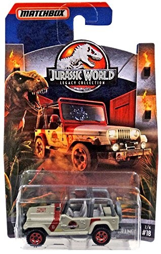 2018 Matchbox Jurassic World Legacy Collection Limited Edition - '93 Jeep