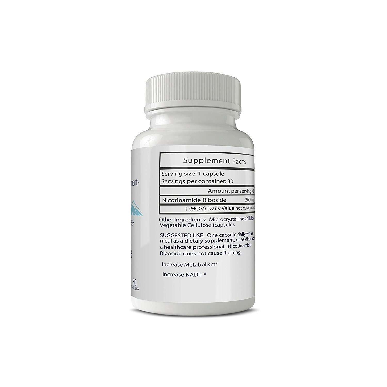 Ribovail - NR Nicotinamide Riboside supplement NAD+ booster - 260 mg 30  Servings