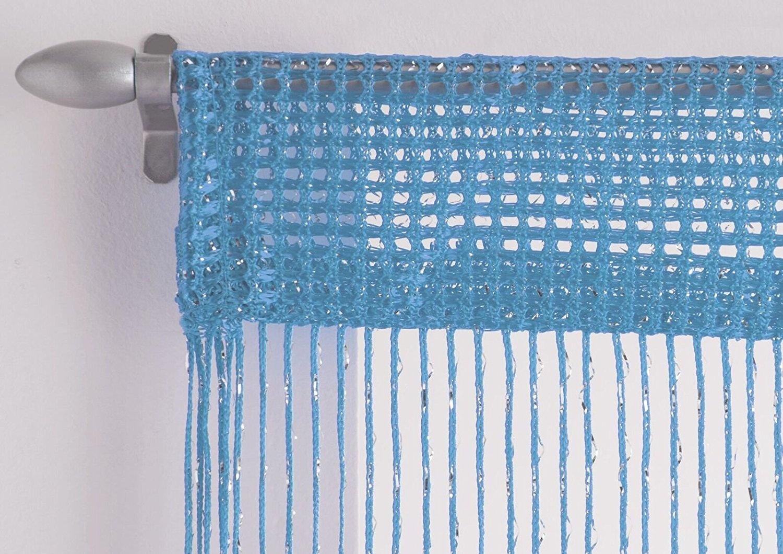 net curtain rod wire rail hooks flisol home. Black Bedroom Furniture Sets. Home Design Ideas