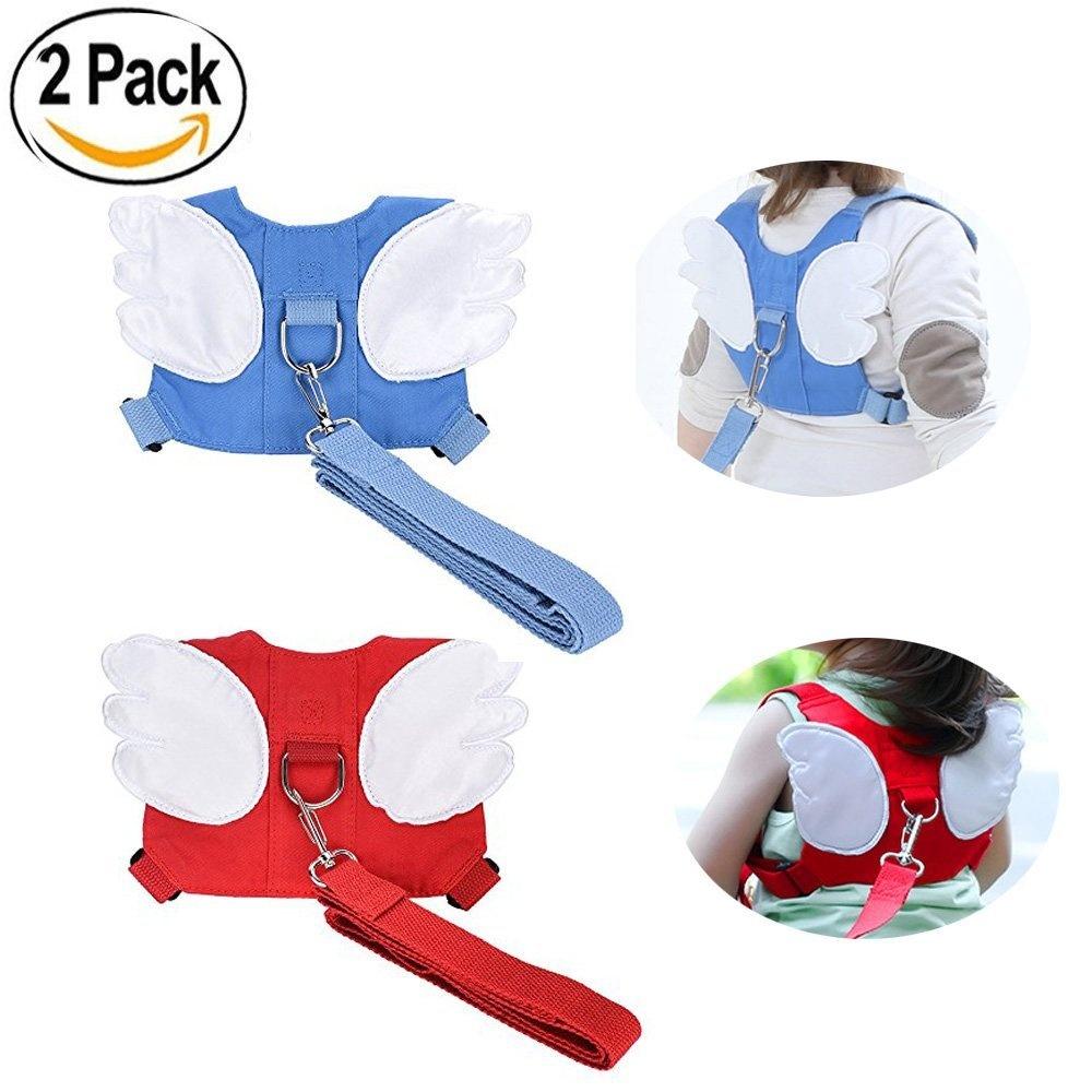 Red JJOnlineStore Butterfly Shape Harness Backpack for Toddler//Kid