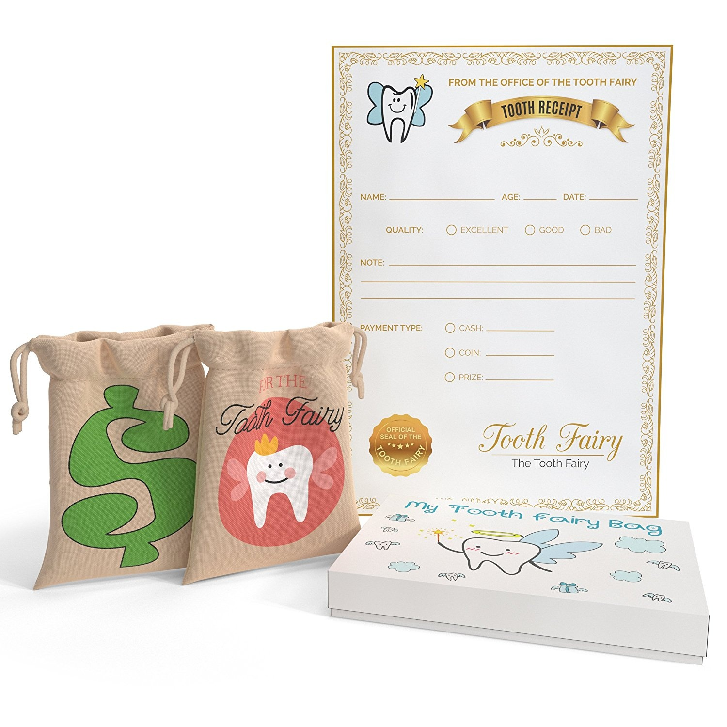 image about Printable Tooth Fairy Certificate identify Enamel Fairy Bag with Printable Enamel Fairy Certification Great Child Shower Reward for Young children Memory Keepsake through Precious Baby