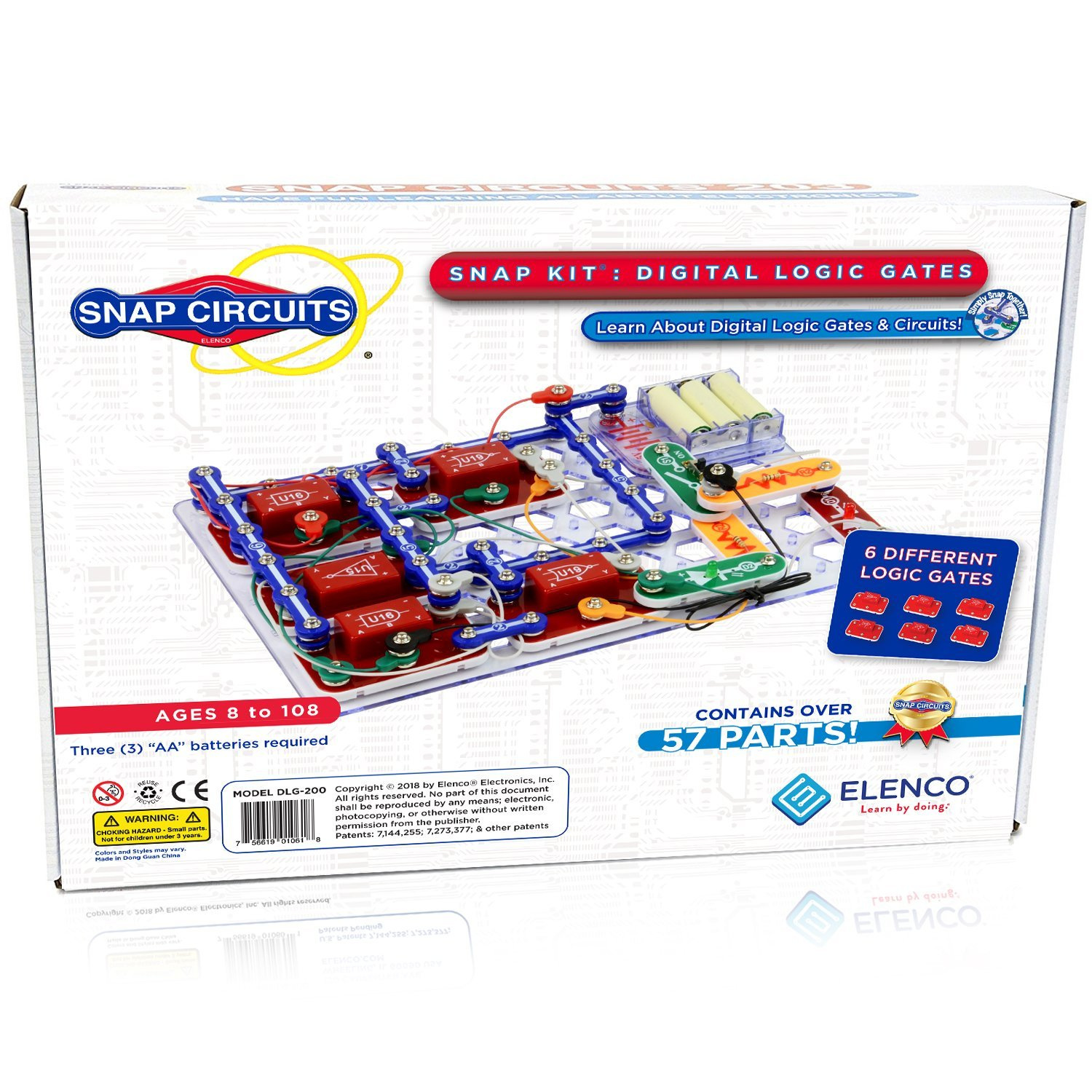 Snap Circuits Motion Electronics Exploration Kit Over 165 Exciting Elenco Sound Stem Projects 4 Color